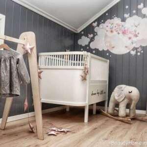 دکوراسیون داخلی اتاق نوزاد کوچک