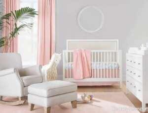 دکوراسیون اتاق نوزاد کوچک و مدرن