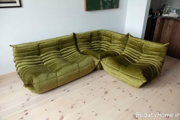 مدل مبل توگو سبز