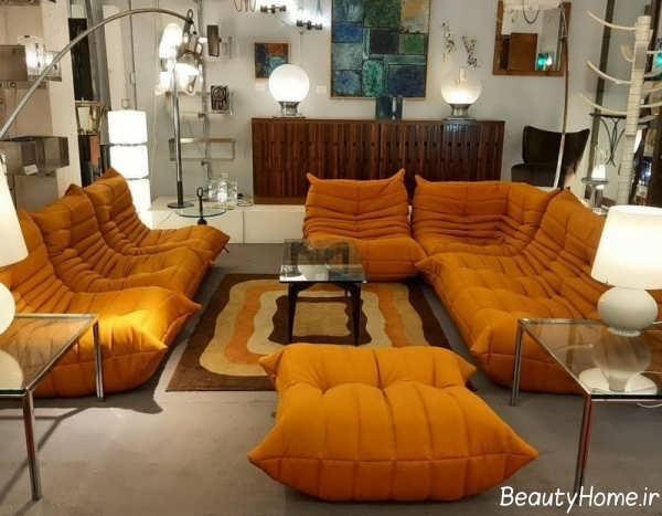مدل مبل توگو نارنجی