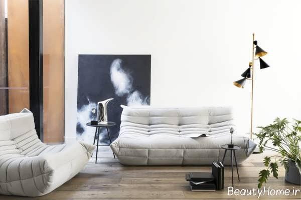 مدل مبل توگو با رنگ خنثی