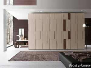 طرح های زیبا و متفاوت کمد دیواری