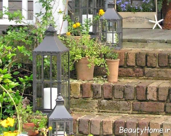 طراحی نورپردازی حیاط به کمک ایده های کاربردی