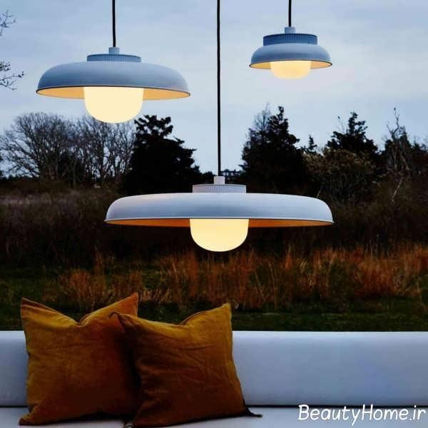طراحی نورپردازی حیاط با ایده های کاربردی
