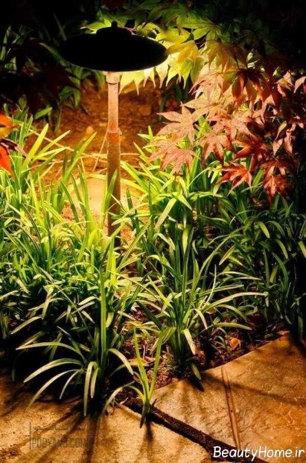 طراحی روشنایی برای حیاط