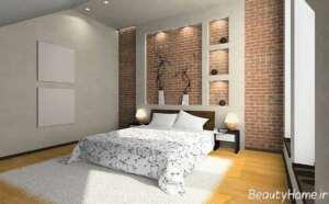 دیوارهای آجری در طراحی داخلی