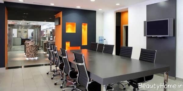 بازسازی دیزاین داخلی اداری