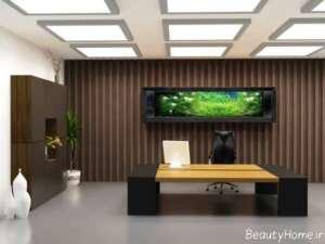 بازسازی دیزاین داخلی محل کار