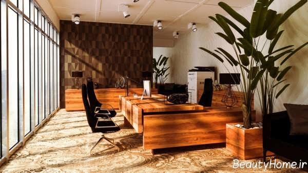بازسازی دکوراسیون دفتر کار با ایده های کاربردی