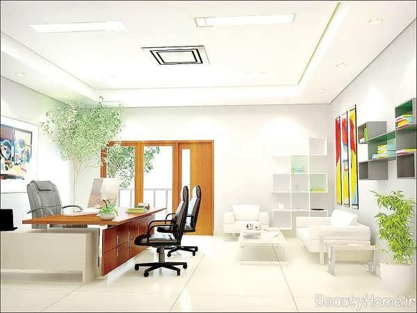 بازسازی دکوراسیون داخلی شرکت