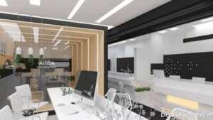 بازسازی دفتر کار